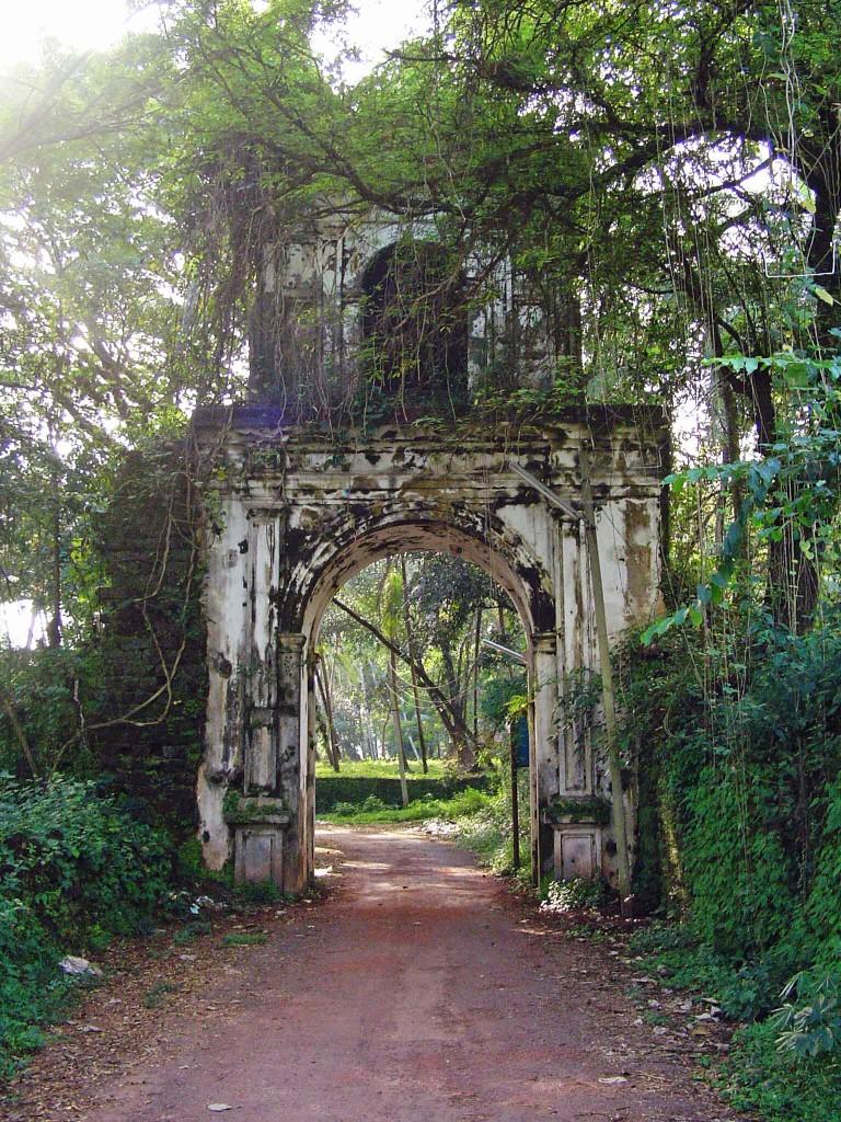Portuguese arch at Goa