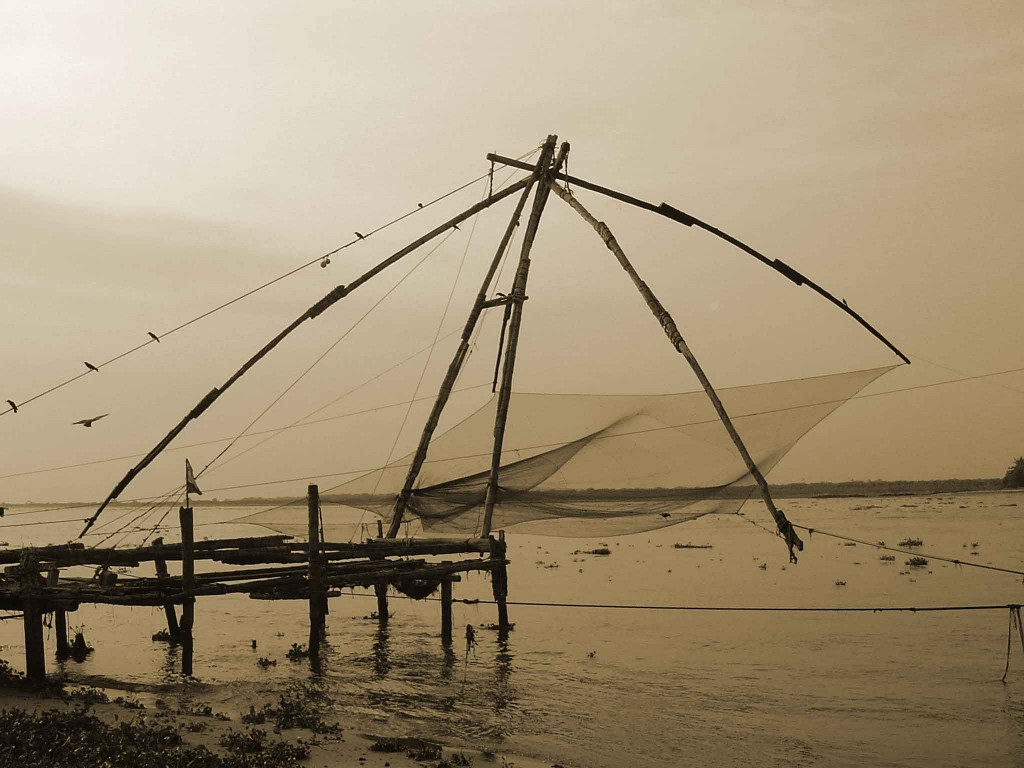 Fishing net at Kochi